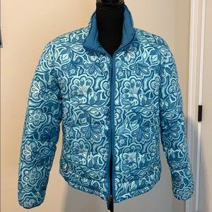 Llbean reversible puff coat